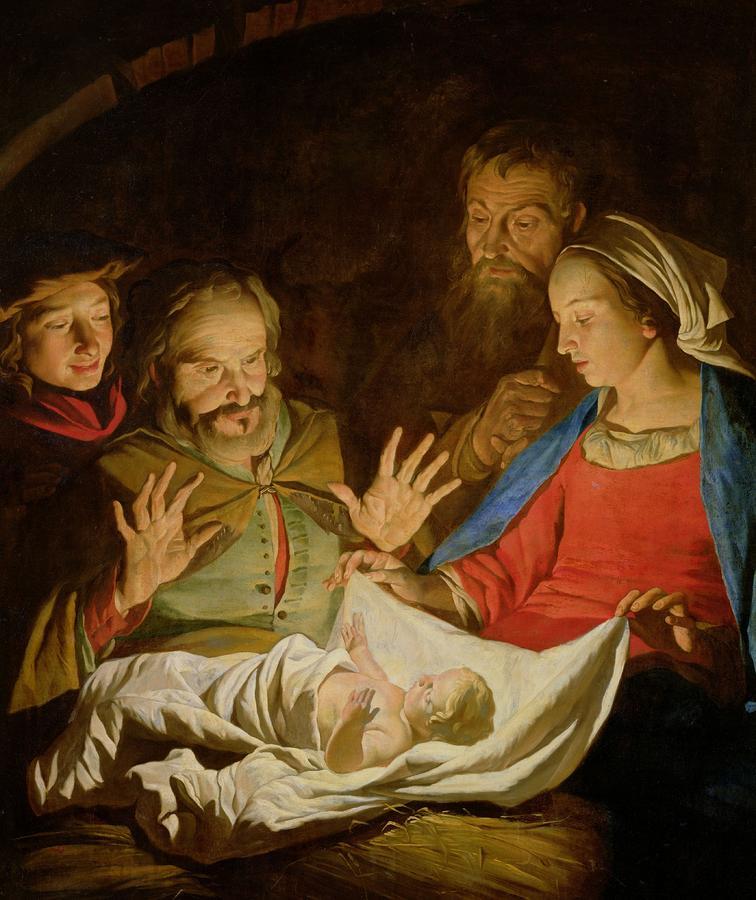 the adoration of the shepherds matthias stomer