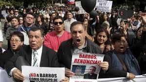 cardinal barros protest
