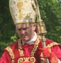 Pray for Bishop Bernard Fellay's Father