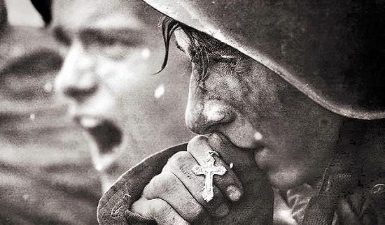 Praying Soldier