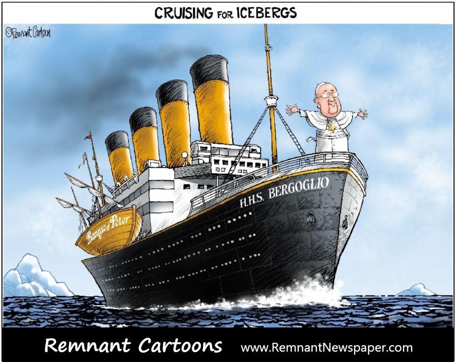 remnant cartoons icebergs