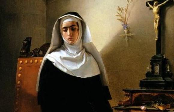 nun painting