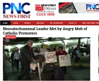 Neocatechumenal Leader Met by Angry Mob