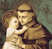 New from RTV...St Anthony of Padua, June 13